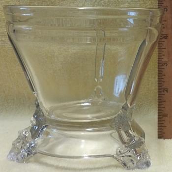 Hobbs, Brockunier & Co. c1876 (Lidless)  Sugar Bowl - Glassware