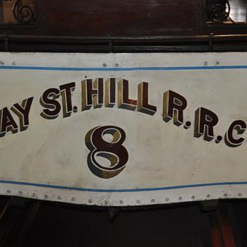 1873 Clay Street Hill Railroad Car No. 8