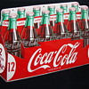 12 Pack Cocal Cola Die Cut Tin Sign 1954