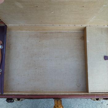 Alligator Covered Portfolio Trunk #3 - Furniture