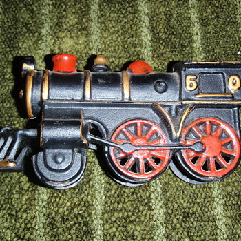 Toy train bank - Coin Operated