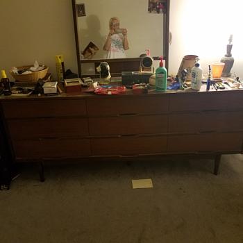 Mid Century bedroom set - Furniture