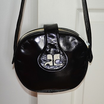 Vintage Space Age Courrèges Handbag - 1960's