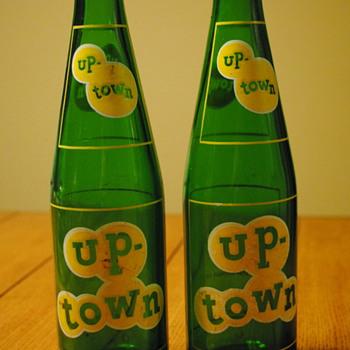 2 Up-Town Soda Bottles - Bottles