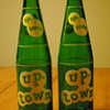 2 Up-Town Soda Bottles