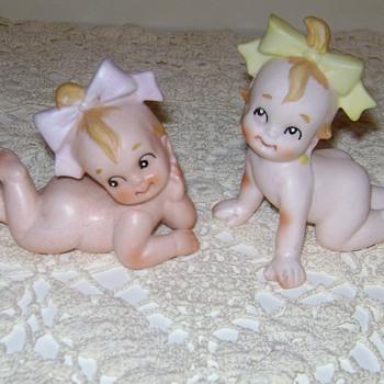 Ceramic Baby Figurines - Figurines