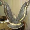 """bronze sculpture """"Eagle"""" by James H. Scorse"""
