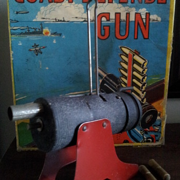 Coast Defence Gun. Baldwin Manufacturing Co. Inc. Brooklyn, NY.  - Toys