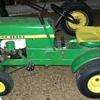1969 John Deere 60 and #80 garden cart