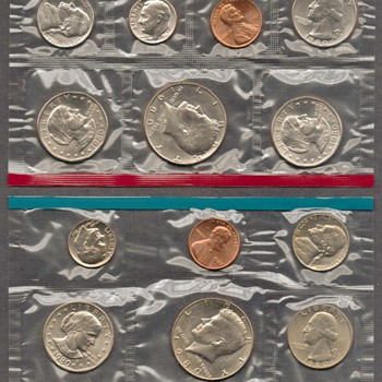1980 - U.S. Mint Coins Set