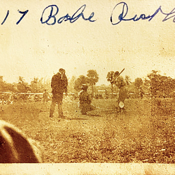1917 Babe Ruth Amateur Photo In Snap Shots Album - Baseball