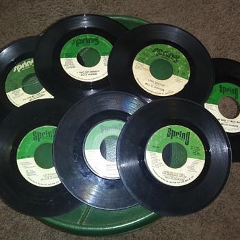Miss Millie Jackson...On Seven 45 RPM Vinyl Discs - Records