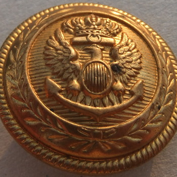 Royal Italian Navy button, maybe - Military and Wartime