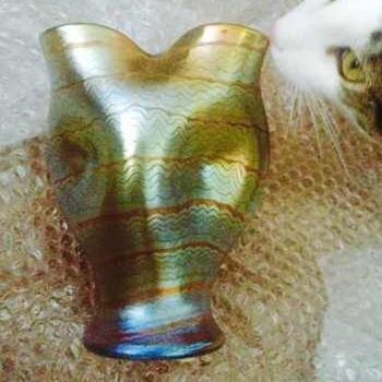Loetz Metallrot Phänomen Genre 7506, stPN II-514, ca. 1900 - Art Nouveau