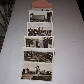 Baghdad Postcard Set Garage Sale Find 10 RPPC Set - Postcards