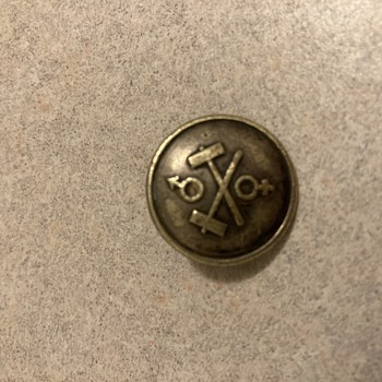 Old button possibly railroad (please help identify) - Military and Wartime