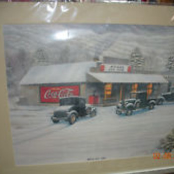 The Roane Store Print by Jim Simpson - Fine Art