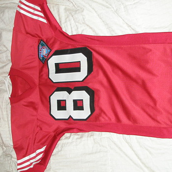 1994 Game Used Jerry Rice Jersey - Football