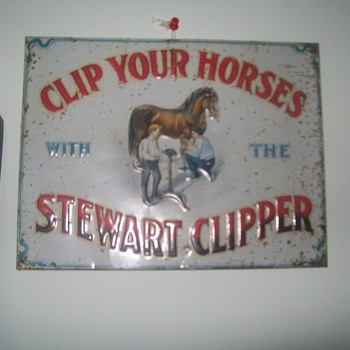 Stewart Clipper sign