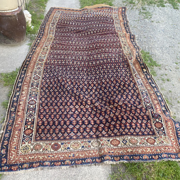 Handmade Turkish rug,old? - Rugs and Textiles