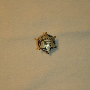 Best-Ever Secret Service Club Button Stud - Sewing