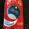 Apollo motor oil can . Remember Apollo 11 first man on the moon