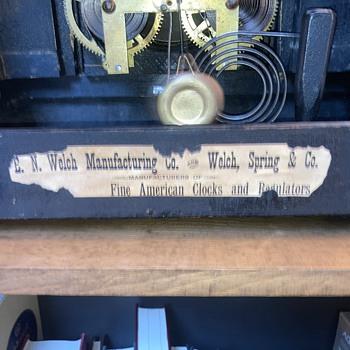 1800's era - pre Sessions era mantel clock part 2  - Clocks