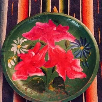 Batea plate  - Folk Art