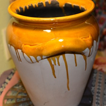 French? Confit Pot?  maybe? or a Mustard Pot? - Pottery