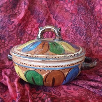 Lidded Casserole - Pottery