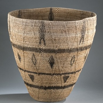 Mystery Basket - Native American - Furniture