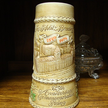 1974 Schlitz 125th Anniversary Beer Stein.......