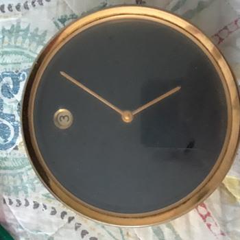Vintage movado desk clock - Clocks