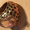Yellow gold vintage leopard print Ring Cartier