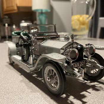 Franklin Mint 1907 Rolls Royce Silver Ghost - Model Cars