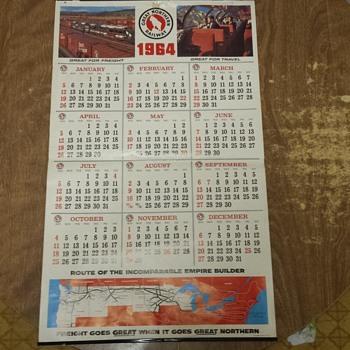 1964 GN Calendar