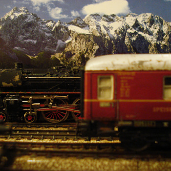 Marklin HO scene - Model Trains