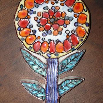italian flower power - Pottery