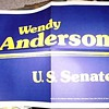 Wendell Anderson '78 campaign sign