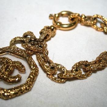 Chanel CC Logo Bracelet - Costume Jewelry