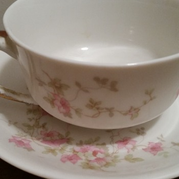 O.P. CO. Syracuse China Teacup & Saucer - China and Dinnerware