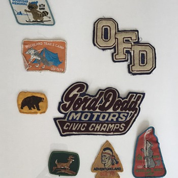 Vintage patches. - Advertising