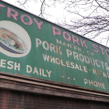 All your meat and more..at the Troy Pork Store!
