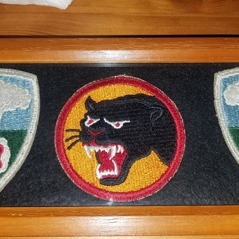 Atomic Defense Command  (AFSWP) & WW2 66th Infantry Patches - Military and Wartime