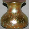 QUEZAL ART GLASS VASE, circa 1910