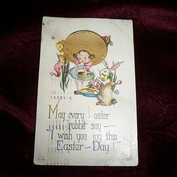 1917 Easter postcard - Postcards