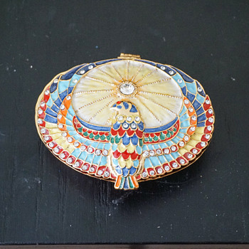 Horus Falcon Trinket Box - Costume Jewelry
