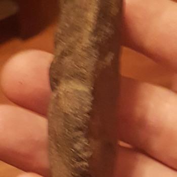 Native American stone  carving  woodlands era  - Native American