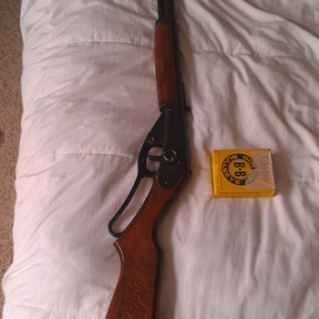Vintage Red Ryder Carbine 1940's Toy Rifle