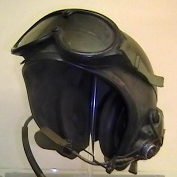 1966 U.S. Army Armored Vehicle Personnel Helmet